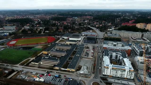 Täby City Center Aerial View