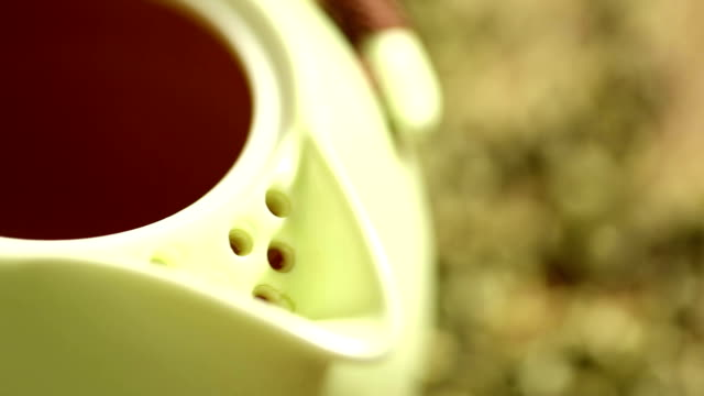 tea ceremony. collage. - chinese tea set stock videos and b-roll footage