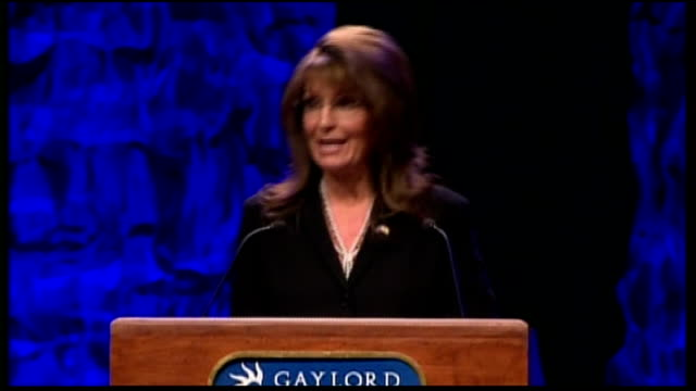 tea party backed candidate wins republican nomination for senate seat tx nashville int sarah palin speech sot god bless you tea party'ers - god stock videos & royalty-free footage