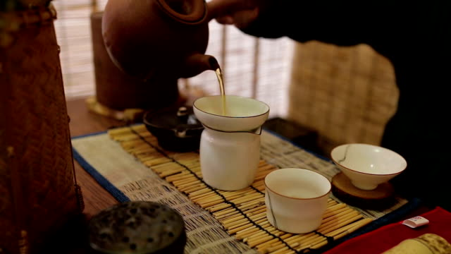 tea time - high tea stock videos and b-roll footage