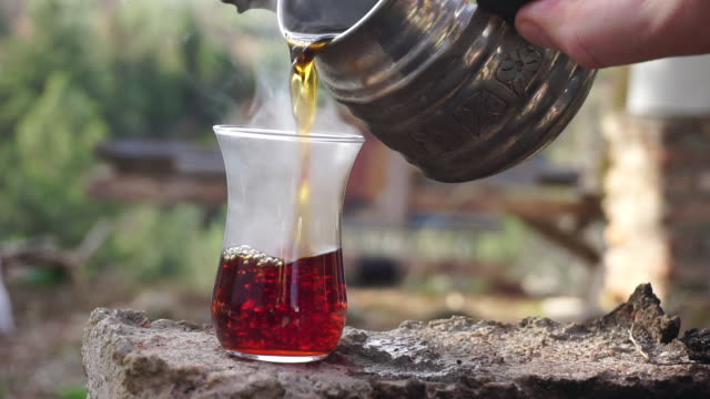 tea - tea hot drink stock videos & royalty-free footage