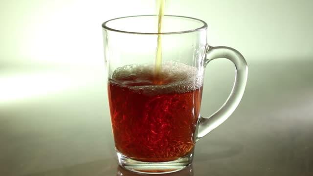 tea (чай) - transparent stock videos & royalty-free footage