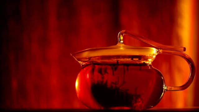 vidéos et rushes de à thé - thé noir