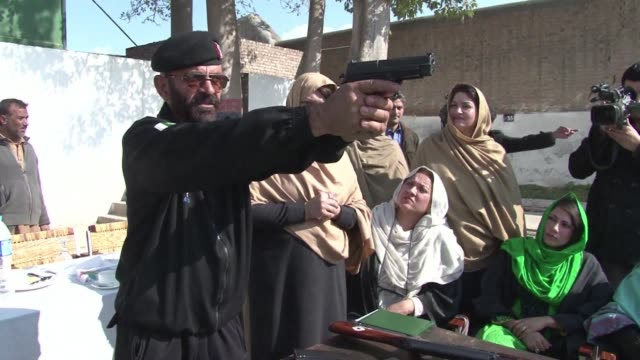 Teachers in northwest Pakistan are being given firearms training and will be allowed to take guns into the classroom in a bid to strengthen security...