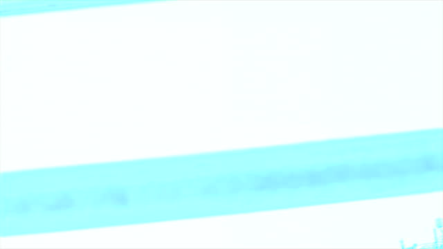 teal, white and blue in-camera special effect for use in compositing dreamlike visuals. - special effect stock videos & royalty-free footage