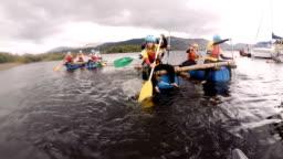 Team Building Water Rafting