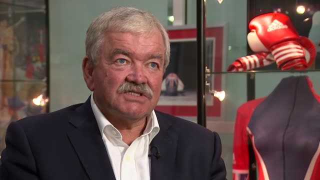 team gb already planning for tokyo 2020 rod carr set up shots / interview sot - rod stock videos & royalty-free footage
