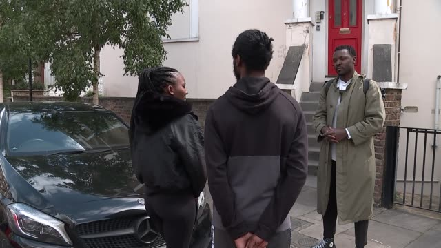 team gb athlete accuses police of racial profiling after vehicle stopped by met police england london ext bianca williams and ricardo dos santos... - politics stock-videos und b-roll-filmmaterial