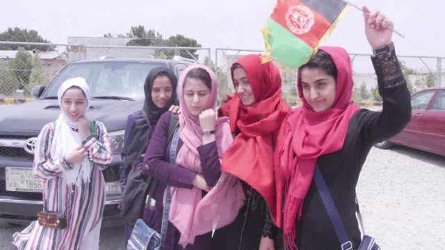 A team of Afghan girls who had been denied visas to attend a Washington robotics competition speak of Donald Trump's support after US authorities...