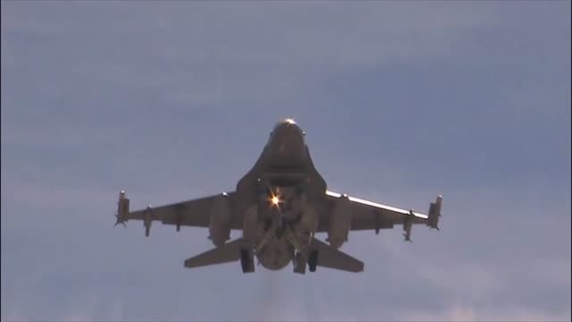 team seymour returns from red flag 142 with a new set of training skills - general dynamics f 16 falcon stock videos & royalty-free footage