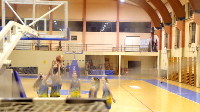 teamwork is the best way to win - jump shot stock videos and b-roll footage