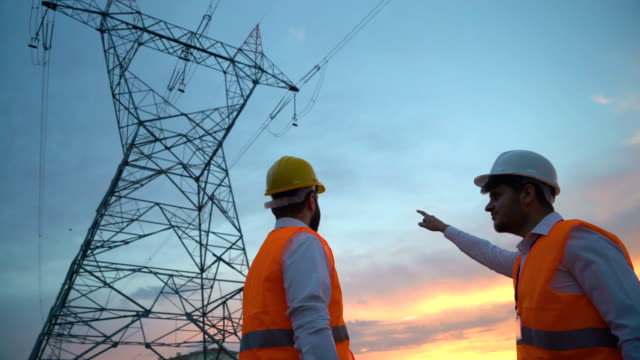 teamwork of electrical engineers - turkish ethnicity stock videos & royalty-free footage