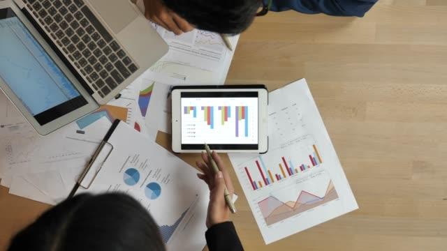 チームワークビジネス戦略 - 事業戦略点の映像素材/bロール