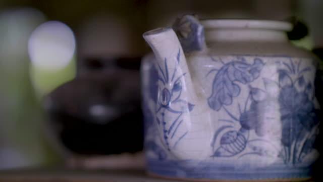 teapot - teapot stock videos & royalty-free footage