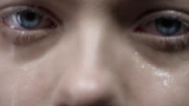 tears - teardrop stock videos and b-roll footage