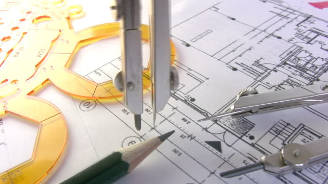 """technical drawing """"compass"""" hd - drawing compass stock videos & royalty-free footage"""
