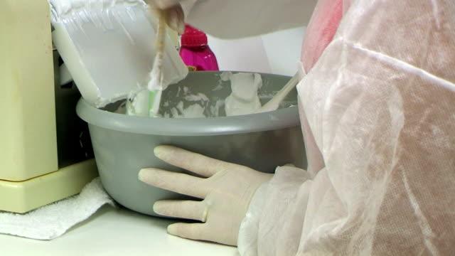 technician at hormone lotion machine - moisturiser stock videos and b-roll footage