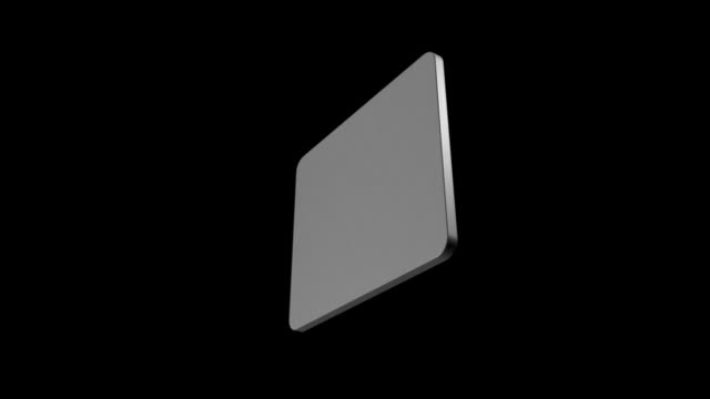 Technologic Computer Display In Black Background