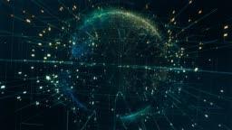 Technologic Data Earth 4K, Loopable Motion.