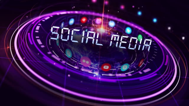 4k technologic social media background - cryptocurrency stock videos & royalty-free footage