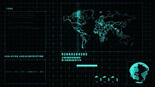 analisi del mondo tecnologico 4k - analizzare video stock e b–roll