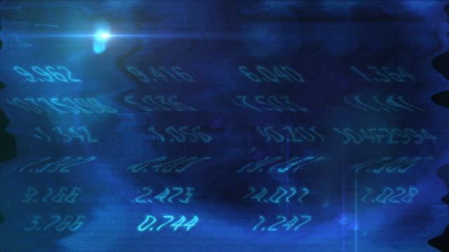 vidéos et rushes de numéros de technologique - écran de projection