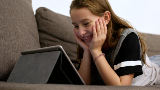 technology all day long - one teenage girl only stock videos & royalty-free footage