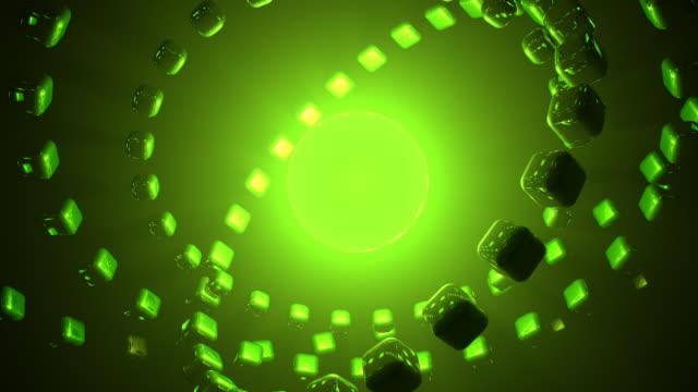 hintergrund grün hd-technologie - kontrastreich stock-videos und b-roll-filmmaterial