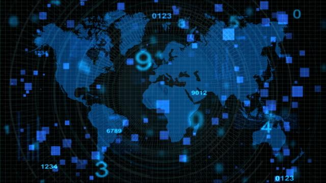 Technology background,blue color