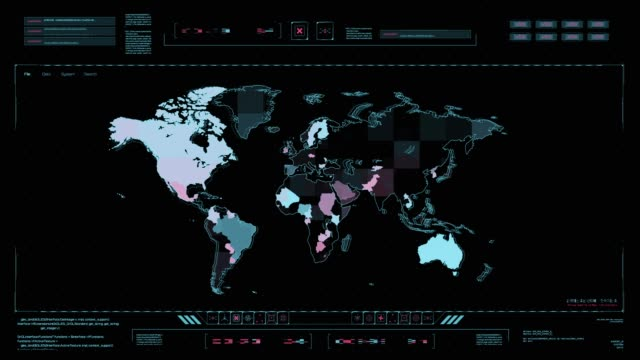 hud technology command control center. - terrorism stock videos & royalty-free footage