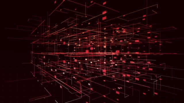 vídeos de stock e filmes b-roll de technology smart grid - complexidade