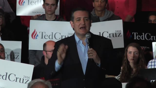 Ted and Heidi Cruz greet factory workers at Dane Manufacturing Additional clips of Cruz's speech include comments on Brussels attack Trump's desire...