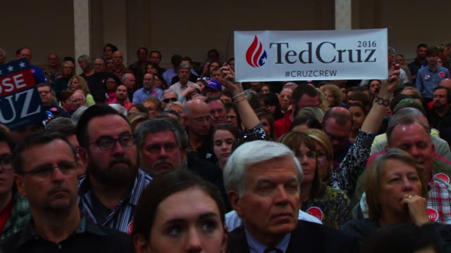 Ted Cruz campaign rally at the Marriott Hotel