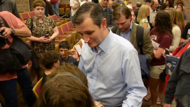 ted cruz campaigns at morningside college in sioux city, iowa. clip 1, 00:06: a person asks cruz which job he liked better: solicitor general or u.s.... - medicaid stock videos & royalty-free footage