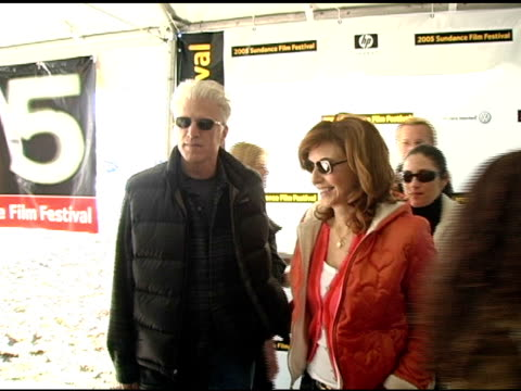 ted danson and mary steenburgen at the 2005 sundance film festival 'marilyn hotchkiss ballroom dancing and charm school' premiere at the eccles... - ted danson stock videos & royalty-free footage