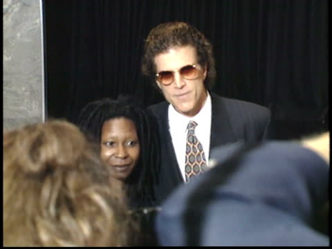 ted danson and whoopi goldberg posing for paparazzi on red carpet - whoopi goldberg stock videos & royalty-free footage