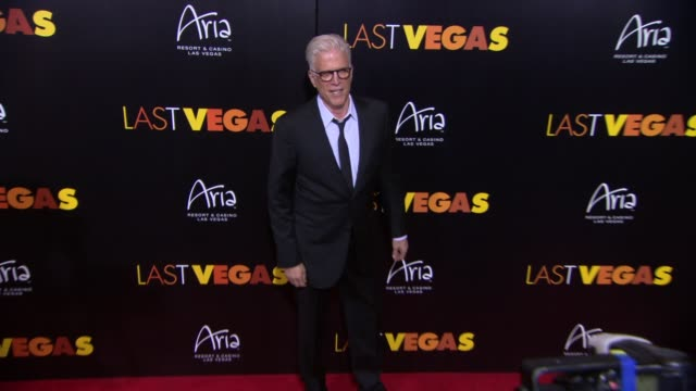"""ted danson at """"last vegas"""" las vegas special screening after party - ted danson stock videos & royalty-free footage"""