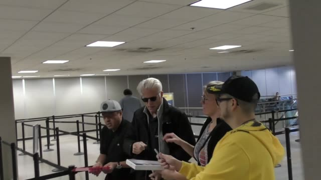 ted danson at salt lake city international airport at celebrity sightings on january 21 2017 in park city utah - ted danson stock videos & royalty-free footage