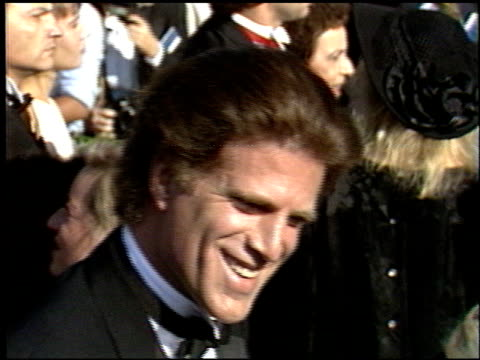ted danson at the 1986 emmy awards at the pasadena civic auditorium in pasadena california on september 21 1986 - pasadena civic auditorium stock videos & royalty-free footage
