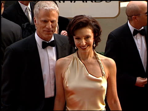 ted danson at the 2001 golden globe awards at the beverly hilton in beverly hills, california on january 21, 2001. - ted danson stock videos & royalty-free footage