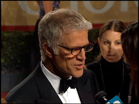 ted danson at the 2001 people's choice awards at the pasadena civic auditorium in pasadena, california on january 7, 2001. - ted danson stock videos & royalty-free footage