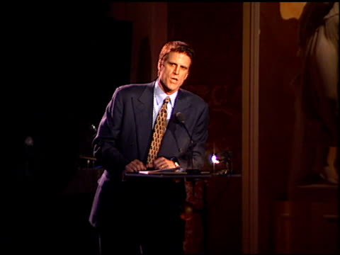 ted danson at the american oceans campaign honoring woody harrelson at the regent beverly wilshire hotel in beverly hills california on march 13 1997 - woody harrelson stock videos & royalty-free footage