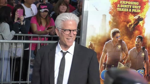 "ted danson at the ""chips"" los angeles premiere at tcl chinese theatre on march 20, 2017 in hollywood, california. - tcl chinese theatre stock videos & royalty-free footage"
