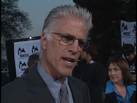 ted danson at the earth to at wadsworht theatre. - ted danson stock videos & royalty-free footage