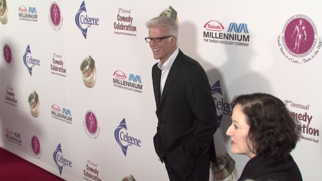 ted danson at the international myeloma foundation's 2nd annual comedy celebration at los angeles ca. - ted danson stock videos & royalty-free footage