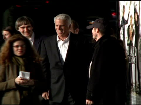 vídeos de stock, filmes e b-roll de ted danson at the 'mad money' premiere at the mann village theatre in westwood california on january 9 2008 - ted danson