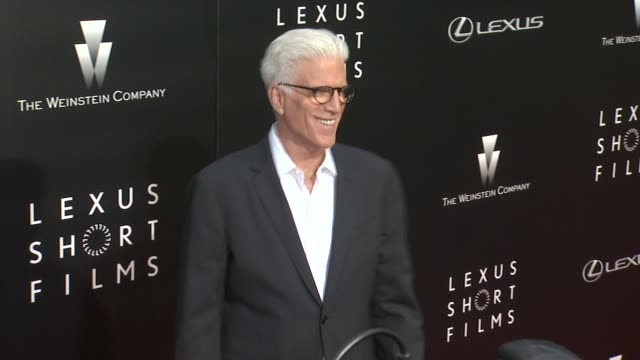 vídeos de stock, filmes e b-roll de ted danson at the weinstein company lexus present 2nd annual lexus short films series life is amazing at regal cinemas la live on july 30 2014 in los... - ted danson