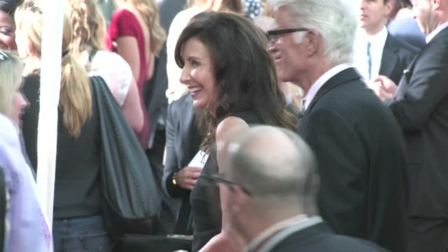 ted danson mary steenburgen arrive at the help premiere in beverly hills - mary steenburgen stock videos & royalty-free footage