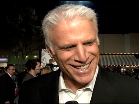 Ted Danson on the film the cast and his character at the 'Mad Money' Premiere at the Mann Village Theatre in Westwood California on January 9 2008