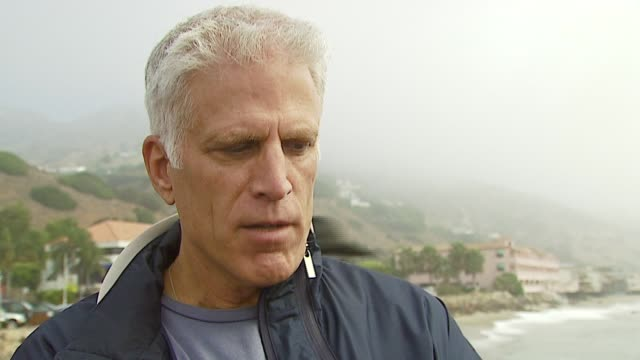 ted danson on the problems that the lng facility why he's out there supporting the cause on people being concerned about the environment on... - malibu beach stock videos & royalty-free footage